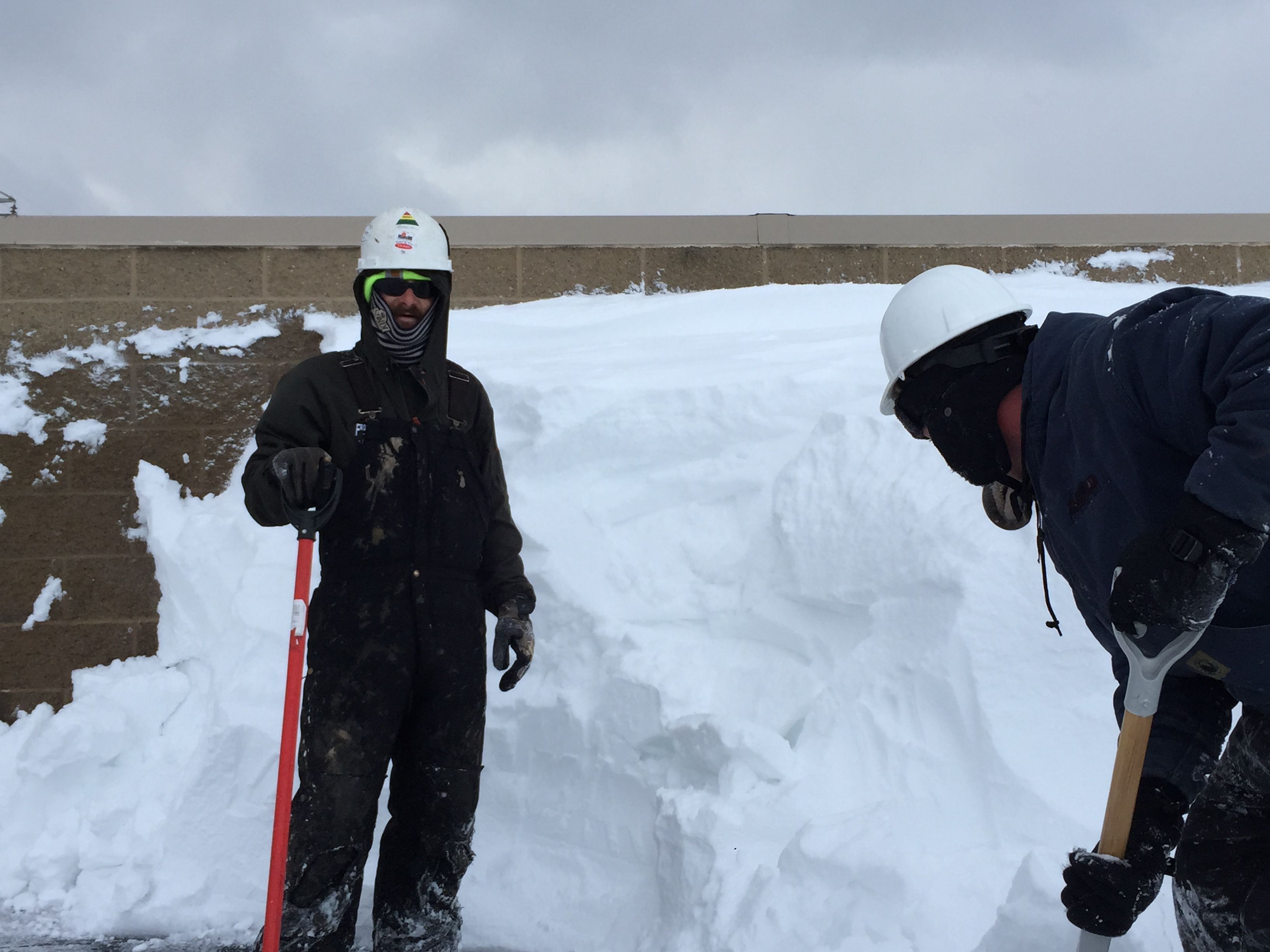We Are Part Of One Of The Largest Snowfalls In History On