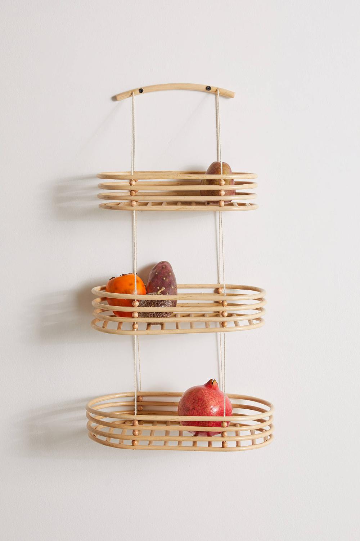 Ria Tiered Hanging Basket In 2020 Hanging Baskets Basket Hanging Fruit Baskets