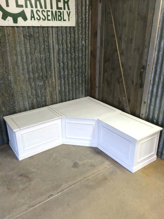 Banquette Corner Bench Seat With Storagewhite Outdoor Storage