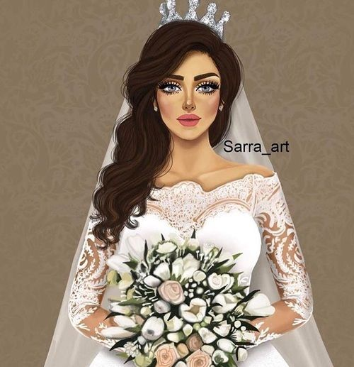Arabic Goodwork And Art Image Sarra Art Girly Art Digital Art Girl