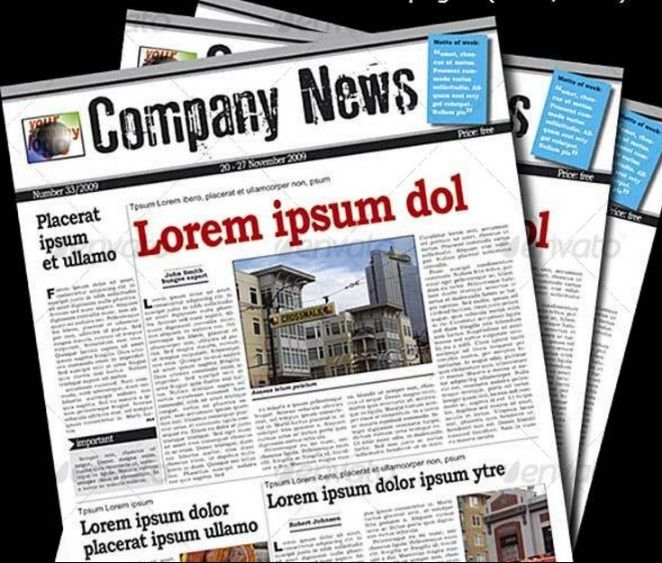 20 Old Newspaper Template Psd Indesign And Ai Format Stuff To