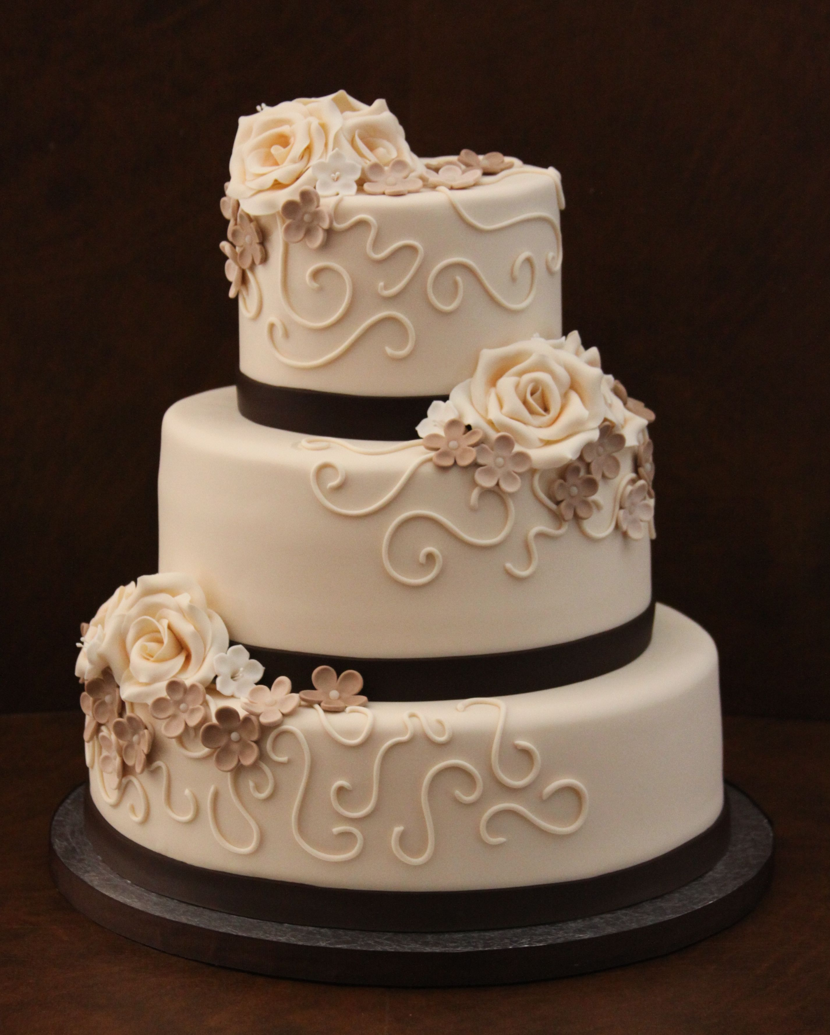 50th Anniversary Cake Was given a photo of this cake and