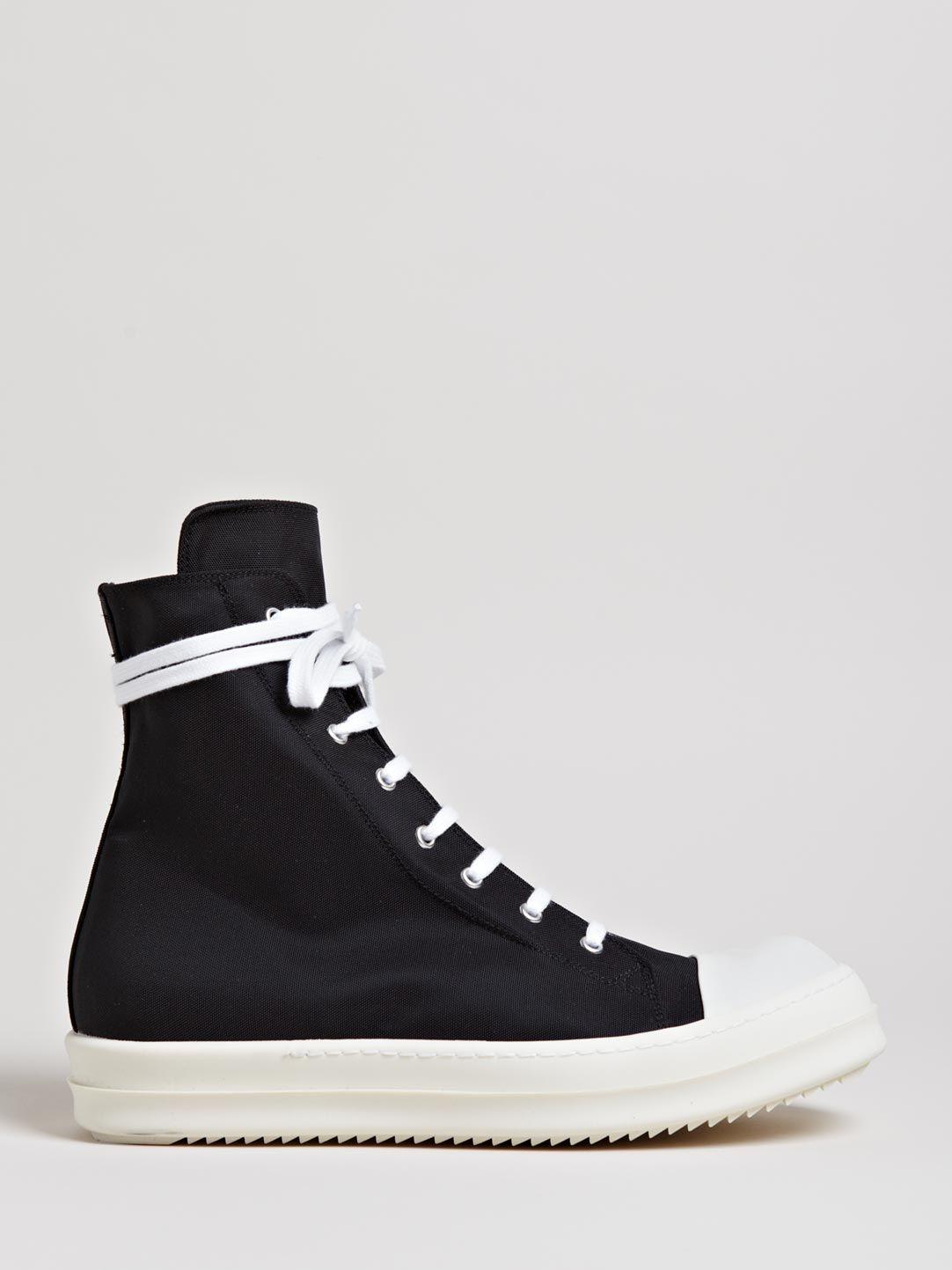 Adidas By Rick Owens Adidas x Rick Owens 'Tech Runner' sneakers - Black farfetch neri Pelle Precio Barato Originales Envío Gratis Para Comprar d7vEF9h