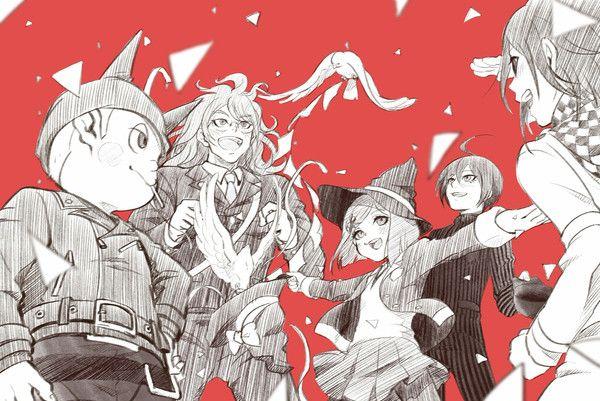 New Danganronpa V3 Ryoma Hoshi Gonta Gokuhara Himiko Yumeno Shuuichi Saihara Kokichi Ouma Danganronpa Danganronpa Characters Anime His main reason for staying alive and not giving hope was gone. new danganronpa v3 ryoma hoshi