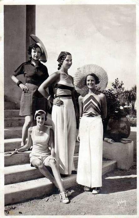 Vintage summer wear during the 1930s Bring me sunshine ...