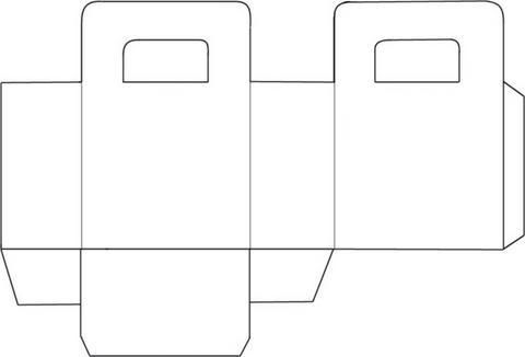 Moldes de cajas de carton corrugado para imprimir imagui - Como hacer una cajita con cartulina ...