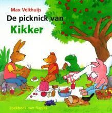 De picknick van Kikker - zoekboek met flapjes - Max Velthuijs