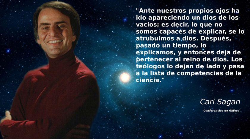 Carl Sagan Frases Ateas Nuevas Carl Sagan Frases Y Ciencia