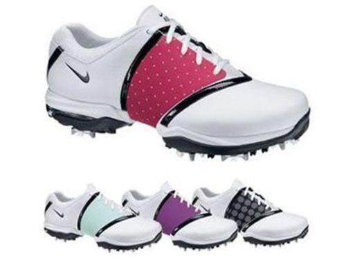 competitive price 262e4 89d14 Nike Women s Air Embellish Golf Shoes 418379 100 Medium Sizes   eBay