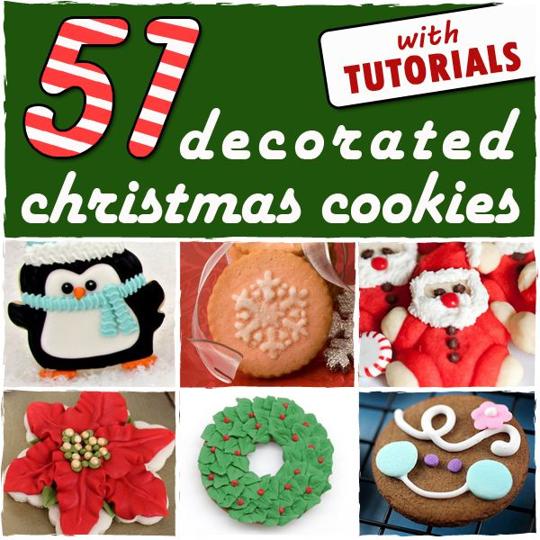 51 decorated christmas cookies sugarkissednet