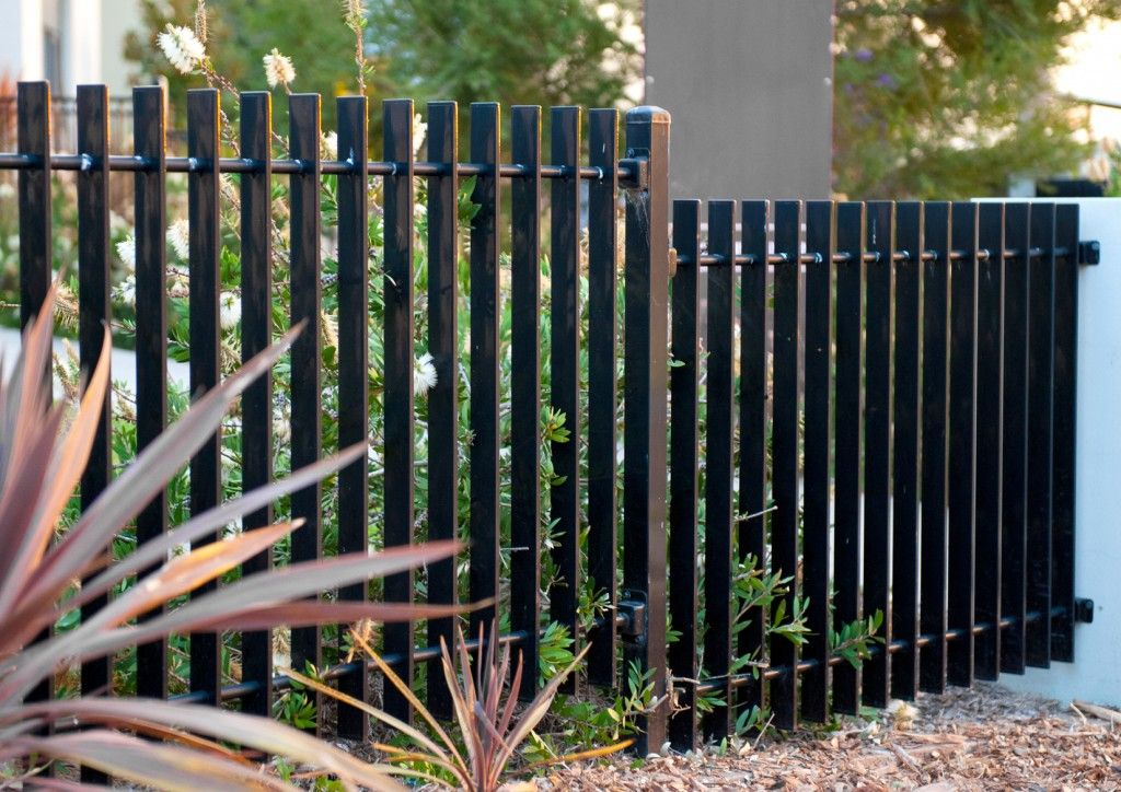 10. Slat / Privacy All Hills Fencing On the outside