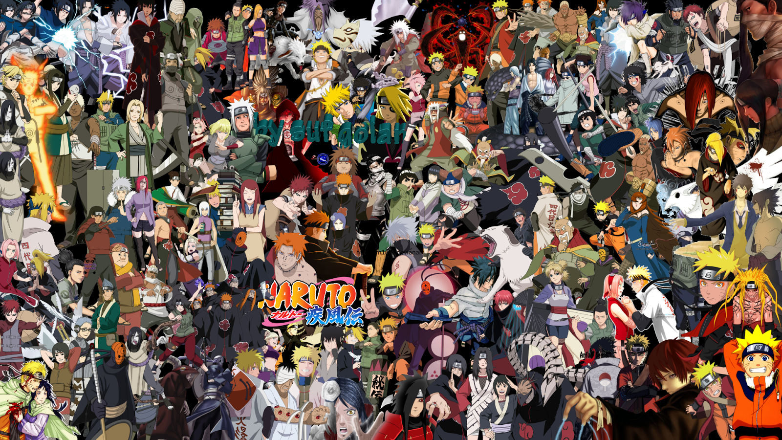 Naruto Shippuden All Characters Wallpaper With Images
