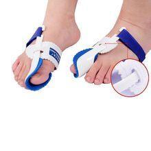 Dispositivo joanete hálux valgo aparelhos ortopédicos correção Toe noite  cuidados com os pés Corrector pen boa 068225237e926