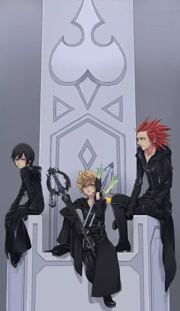 Kingdom Hearts Axel Roxas and Xion | My Kingdom Hearts board ...