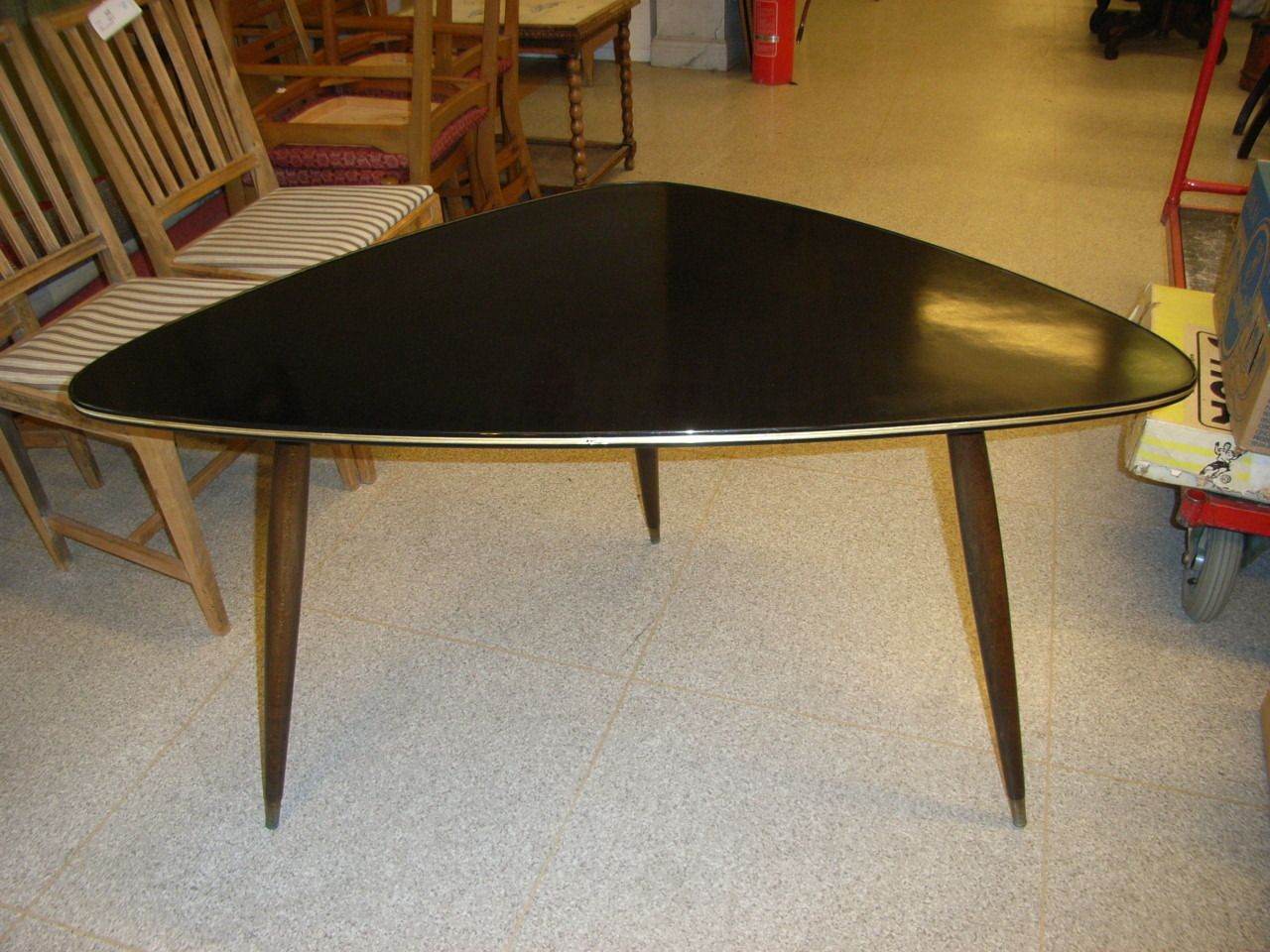 Differently Shaped 50s Coffee Table 50s Furniture Coffee Table
