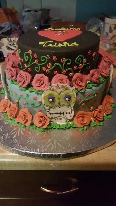 Mexican fiesta themed bridal shower