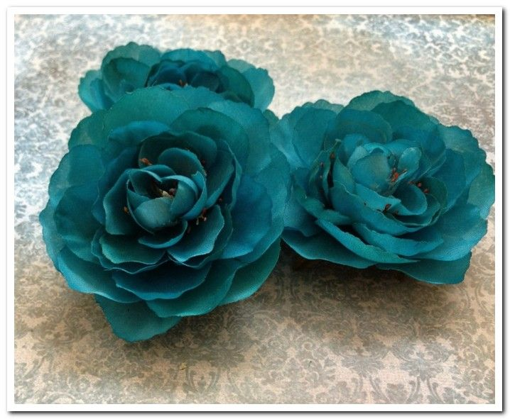 Teal silk flowers bulk biscay bay wedding pinterest silk teal silk flowers bulk mightylinksfo