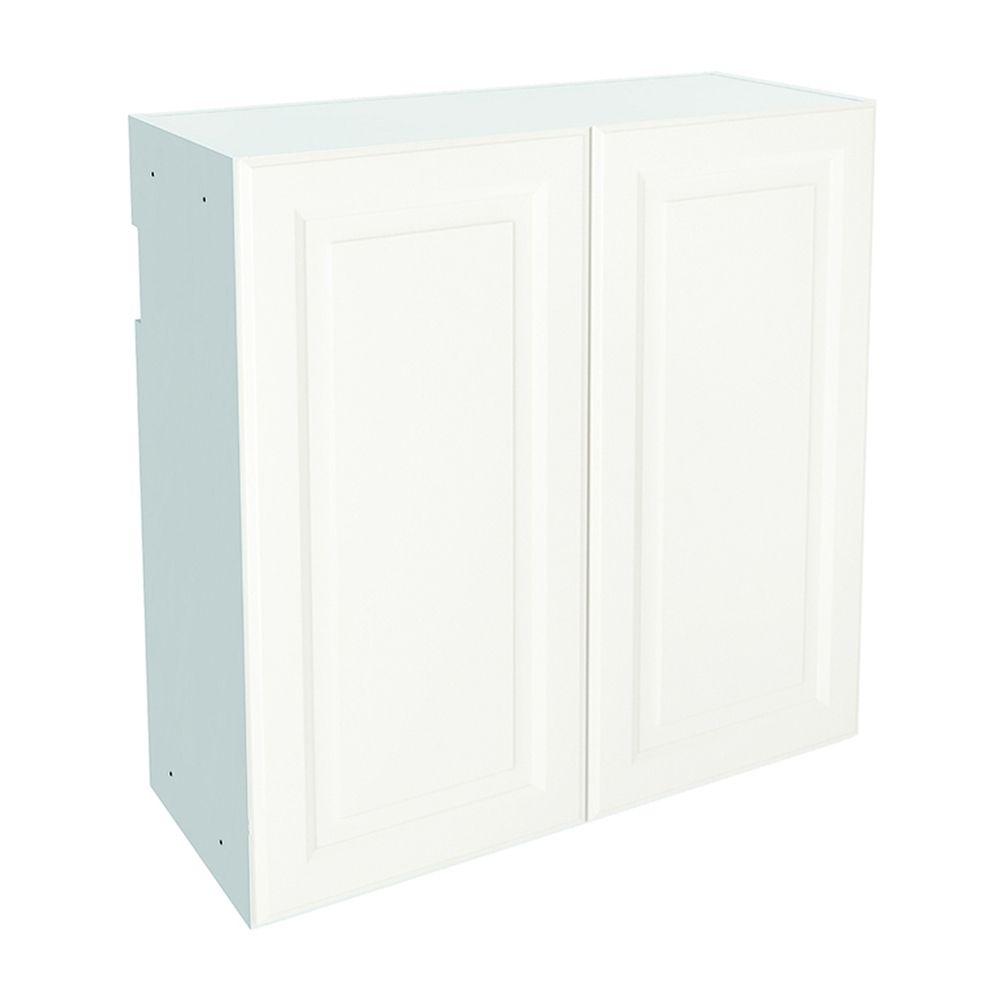 Nimble 30-in x 30-in Milk Mustache Upper Cabinet with Door | Lowe's Canada | Smart home ...