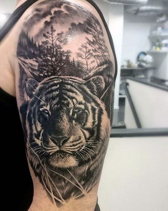 1001 Ultra Coole Tiger Tattoo Ideen Zur Inspiration Tattoos
