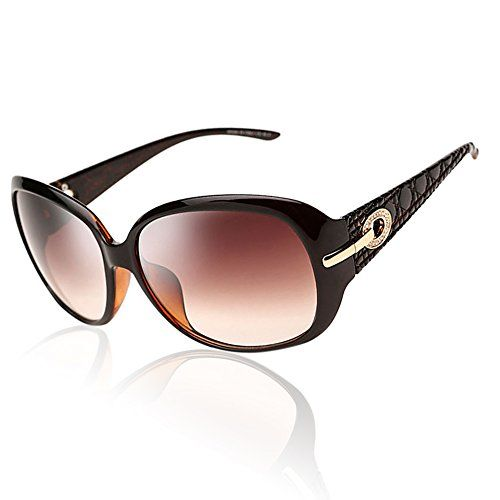 DUCO Shades Classic Oversized Polarised Sunglasses for Women and Ladies 100/% UV