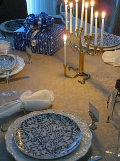 Hanukkah Tablescape by All the Pretty Dishes Tablescape Design and Consulting & Hanukkah Tablescape by All the Pretty Dishes Tablescape Design and ...