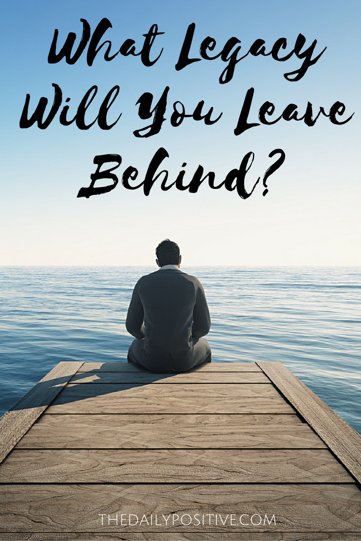 What Legacy Will You Leave Behind | This or that questions, Good ...