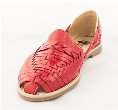 eb8f1301753b Women s Closed Toe Colonial Huaraches Sandals - Red in 2019 ...