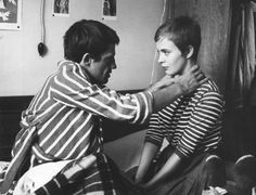Jean Paul Belmondo And Jean Seberg In A Bout De Souffle 1960 画像あり 映画 仏