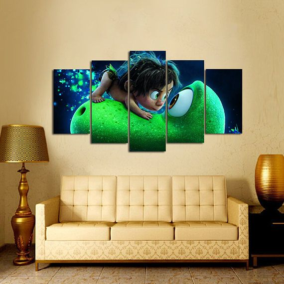 The Good Dinosaur wall decor Tyrannosaurus rex canvas print ...