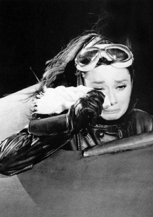 #Audrey Hepburn #Paris when it sizzles #60's #Vintage