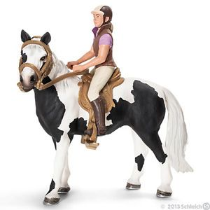 Toy New Toy Schleich Recreational Rider with Horse Action Figure Gift Set