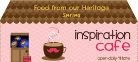 Sweet Little Bluebird: Inspiration Cafe ~ Recipes From Our Heritage Link Party