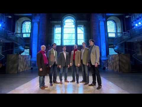On of my favorite group of singers; The King's singers. Close harmony optima forma