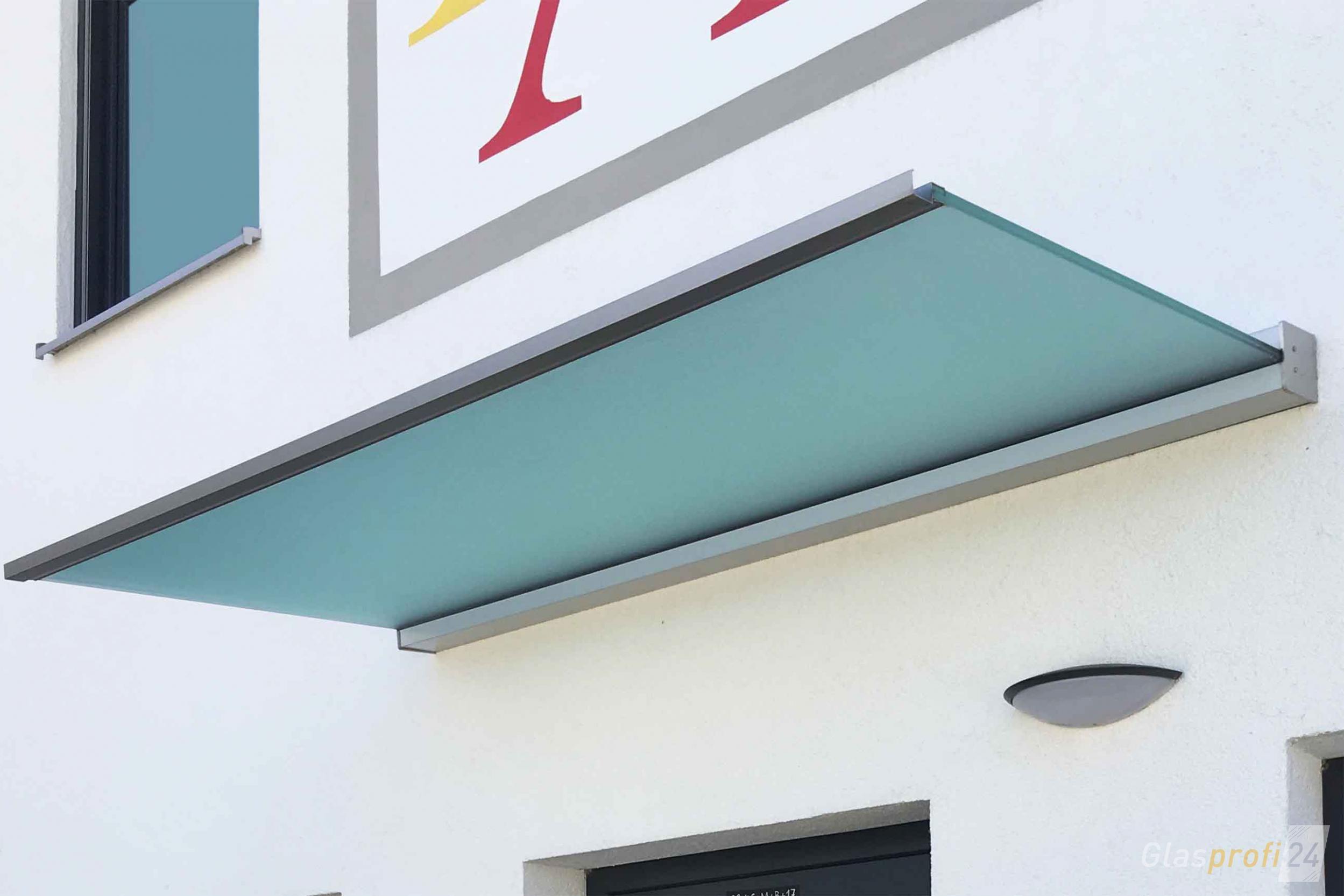 Hausturuberdachung Dura Ein Freitragendes Glas Vordach