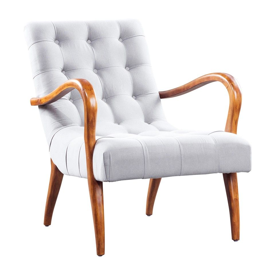 AMES CHAIR   LIGHT GRAY   Accent Chairs   Seating   Living   HD Buttercup  Online
