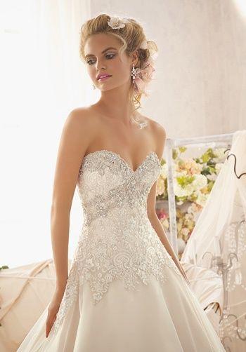 Mori Lee By Madeline Gardner Wedding Dresses The Knot Bridal Wedding Dresses Long Wedding Dresses Bridal Dresses Online