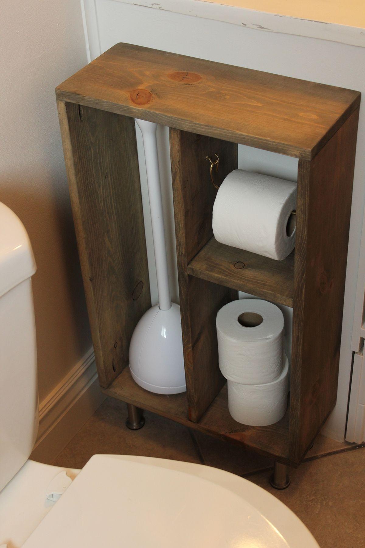Diy Simple Brass Toilet Paper Holder Diy Toilet Paper Holder Toilet Paper Holder Stand Toilet Paper Storage