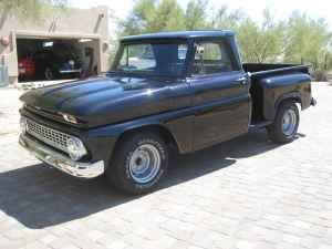 1966 Chevy Stepside Pickup 6250 Cave Creek 1966 Chevy Short Bed Stepside Nice Paint Good Glass New Tires Ralley W Chevy Stepside Old Trucks Cool Trucks