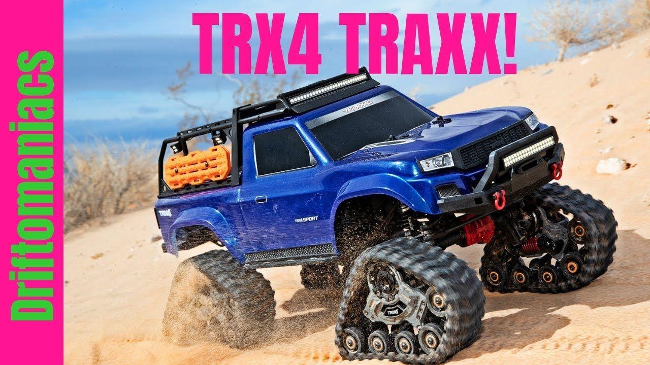 Trx4 Traxx All Terrain Track Set For Traxxas Trx4 Traxxas Trx Wheels And Tires