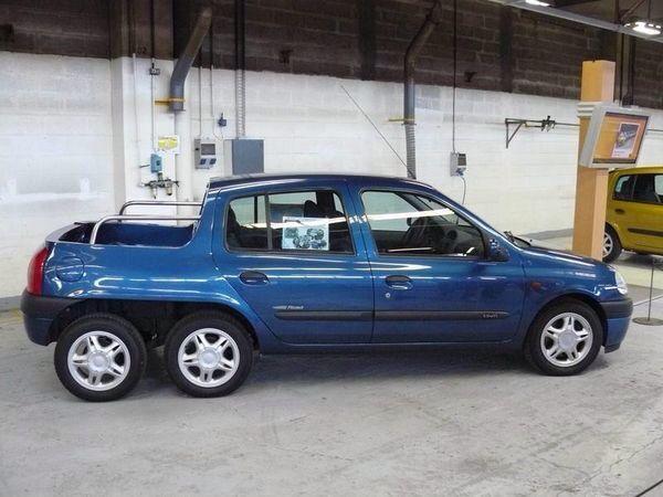 Renault Clio 6x6 Pick Up Arabalar Kamp