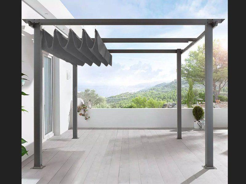 Free Standing Pergola Aluminium 3m x 4m Garden/Outdoors