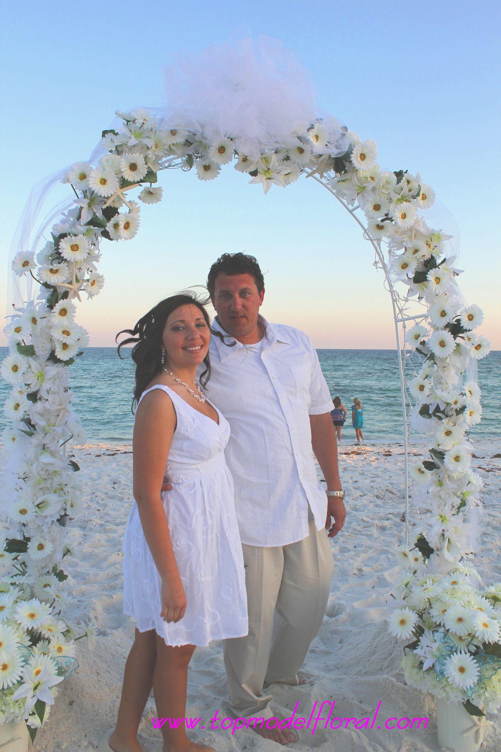 Beach wedding arch ideas google search wedding pinterest beach wedding arch ideas google search solutioingenieria Images
