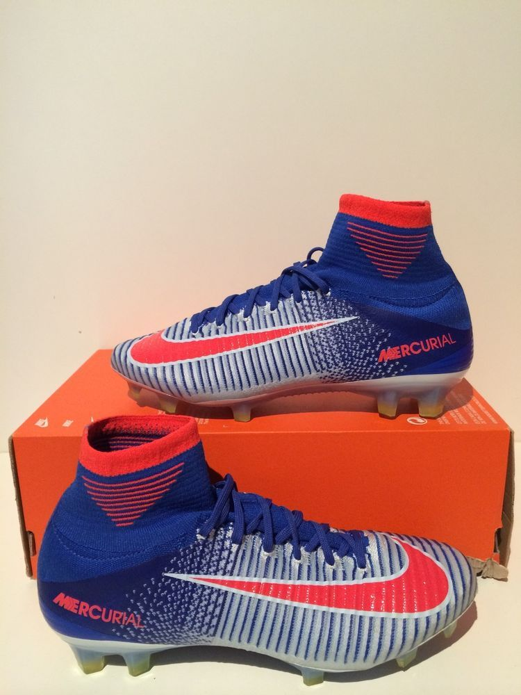 Women's Nike Mercurial Superfly V FG Soccer Cleat USA Olympics Sz 8.5  844226 464