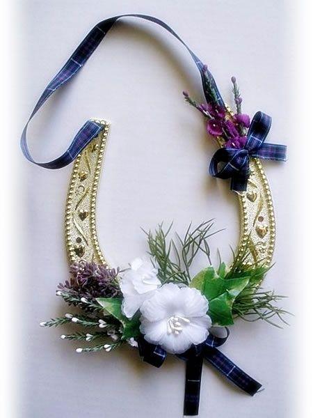 Super Scottish Wedding Horseshoe   Craft Ideas   Pinterest   Scottish  WX64