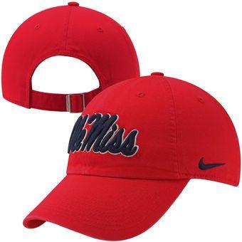 9d525670549 Nike Mississippi Rebels Ladies Campus Adjustable Performance Hat - Cardinal