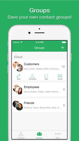 Text 2 Group Quickly Send Sms Messages On The App Store Sms Message Productivity Apps App