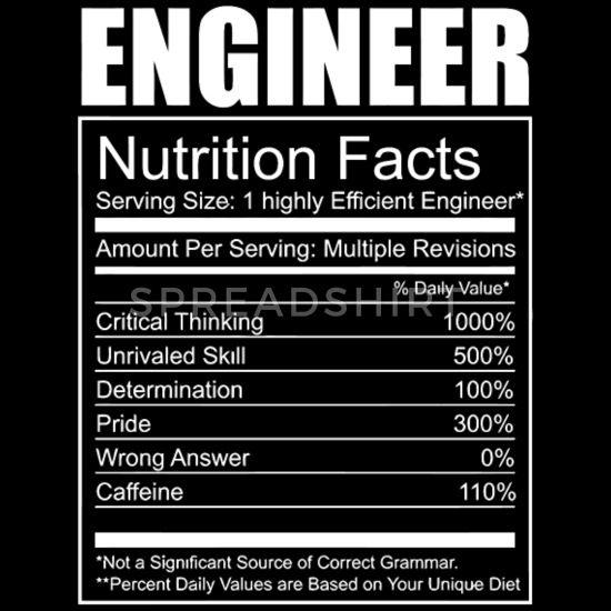 'Engineer - Engineer - Funny Engineer Nutrition' Men's Premium T-Shirt   Spreadshirt