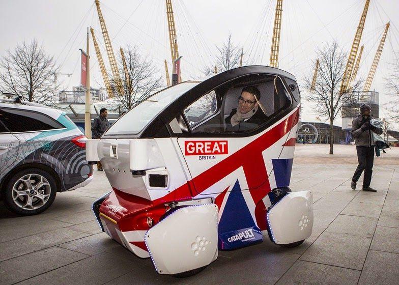 Tecnoneo: LUTZ pathfinder pod, una alternativa a los coches sin conductor de Google