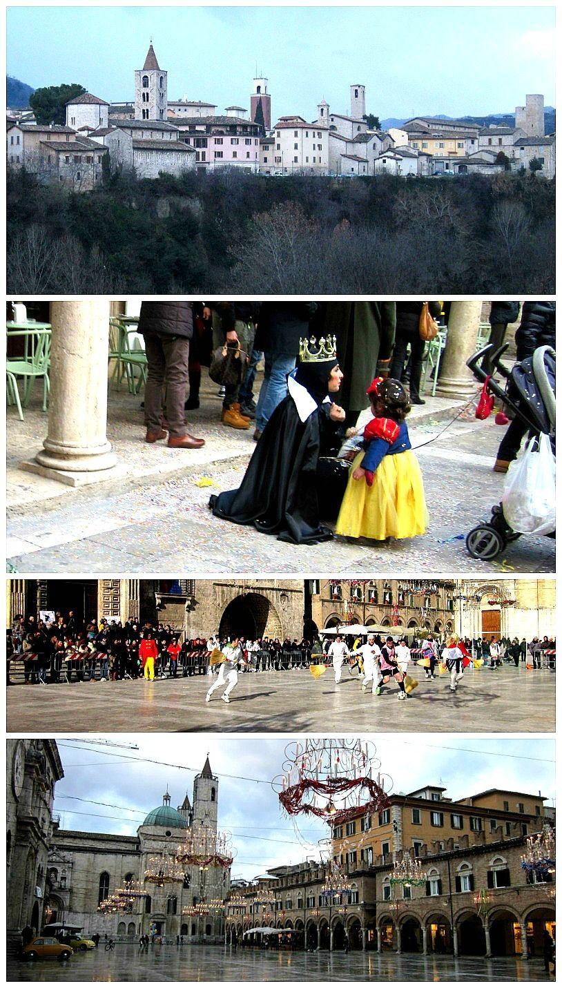 Ascoli Piceno, Le Marche: The Masqueraded Town