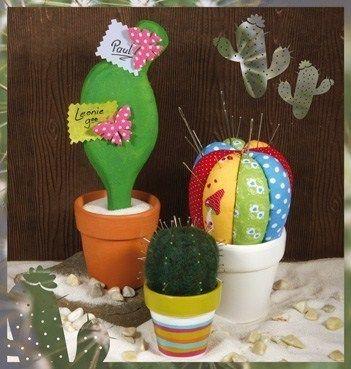 cactus en tissus